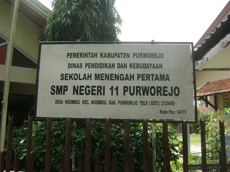 SMP Negeri 11 Purworejo